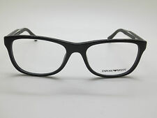 NEW Authentic Emporio Armani EA 3001 5017 Black 54mm RX Eyeglasses