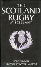 The Scotland Rugby Miscellany by Richard Bath 2007 HARDBACK BOOK