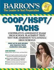 Barron's COOP/HSPT/TACHS by Carmen Geraci, David Ebner and Kathleen Elliott...