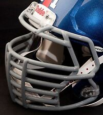 JUSTIN TUCK NEW YORK GIANTS Speed S2BDC-HT-LW Football Helmet FACEMASK - GRAY