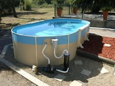 ABOVE GROUND SWIMMING POOL PACKAGE  8.2mx4.5mx1.32m FREE FUN PACK WITH ALL POOLS