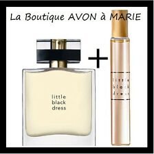 LOT Eau de parfum Little BLACK dress + Flacon de sac AVON