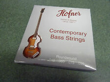 Hofner contemporary String Set For Violin Bass / Club Bass Guitar
