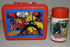 Vintage 1990 Dick Tracy Movie Warren Beatty MADONNA Lunchbox & Thermos Set 9+