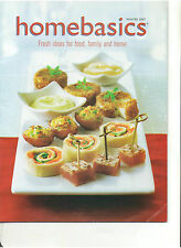 HOMEBASICS MAGAZINE CANADIAN MAGAZINE WINTER 2007 NO CUTS OUT OF PRINT OOP