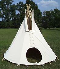 10ft. diameter tipi, teepee, or tepee-100% cotton duck: Outdoor/Indoor tent (1)