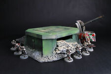 Bunker terrain scenery for warhammer 40k and other 28 mm Wargame