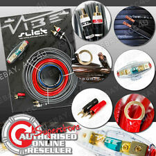 Vibe Slick 8 Awg Gauge 1500w 1500 Watts System 12v Car Amp Amplifier Wiring Kit