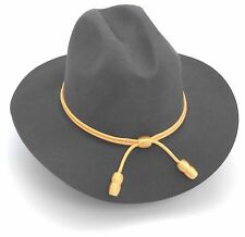 Confederate Civil War Officer's Hat With Gold Cord Size Medium (7-71/8)