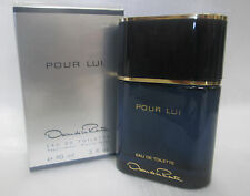 POUR LUI OSCAR DE LA RENTA 3.0 OZ / 90 ML EDT SPRAY SEALED BOX COLOGNE MEN