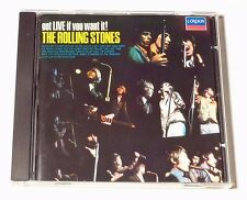 CD ALBUM / THE ROLLING STONES - GOT LIVE IF YOU WANT IT / ANNEE 1987