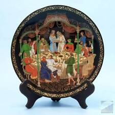 """Russian Collectible Plate Legends Fairy Tales 1990 Bradford Exchange 7.75"""" EXC"""
