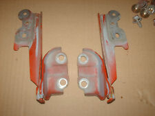 Mazda MX3 MX-3 Hood Hinges 92 93 94 Used OEM Red with Bolts