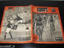 LO SPORT 1951/21=FIORENZO MAGNI CAMPIONE D'ITALIA=COMO IN TESTA=