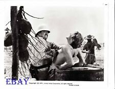 Barechested man being tortured VINTAGE Photo I Escape from Devil's Island