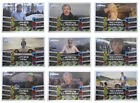 Top Gear Turbo Attax Trading Cards. 138-146 Presenter Boost Cards