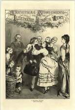 1871 An Affectionate Christmas Welcome Drawn By Edward Hughes