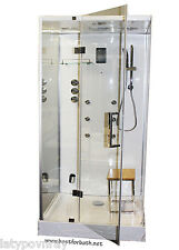 Steam Shower Enclosure,Bluetooth.Termostatic,US Warranty