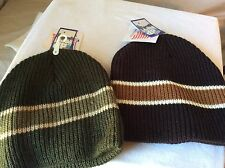 DP Dorfman Pacific Company Beanies Lot Of Two $7.99 Each Made In The Usa