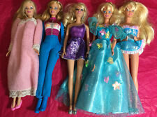 Mixed Lot of 5  Barbies: previously played with lot #C39