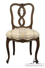 High End Elegant Country French Carved Back Dining Side Chair