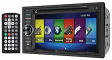 "Soundstream VR-64H2B 6.2"" 2-DIN Bluetooth DVD Car Receiver Android/MobileLink X2"