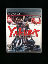 Yakuza Dead Souls (Sony PlayStation 3) Sega Region 1