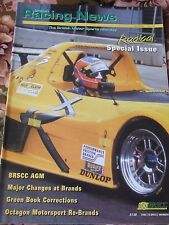 BRITISH RACING NEWS MAGAZINE #260 JUN 2003 MAJOR CHANGE BRANDS OCTAGON MOTOR