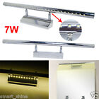 7W Bathroom LED SMDs Make-up Wall Mirror Picture Light Front Lighting Warm White