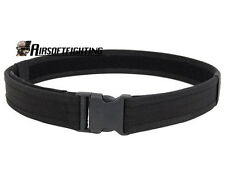 "Airsoft Tactical 600D 1.5"" Nylon Load Bearing Cambat Duty Web Belt-Black A"