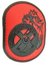 BERSERKER BARBARIAN RUBBER PVC VIKING WARRIOR US ARMY COLOR HOOK & LOOP PATCH