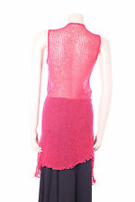 New Coral Pink Aganzi Top Sheer Cardigan Long One Size