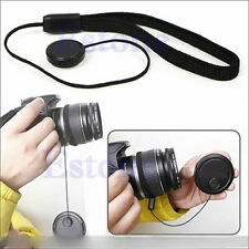 5pcs Lens Cover Cap Keeper Holder Strap Rope for Canon Pentax Nikon DSLR Camera
