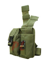 Universal Tactical Drop Leg Mag Pouch- OD Green