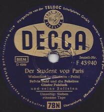 Sylvia Dahl und die Peheiros : Sieben einsame Tage + Der Student von Paris