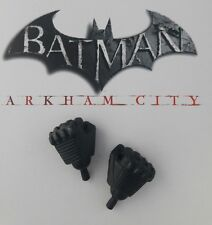 1/6 Hot Toys Arkham City Batman VGM18 Pair of Fists + Pegs *US Seller*
