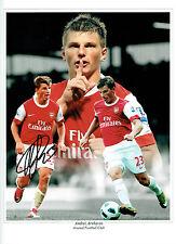Andrey ARSHAVIN Signed Autograph 16x12 Arsenal Montage Photo AFTAL COA