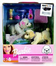 NIB BARBIE DOLL 2002 BOBBING HEADS PETS DOGS POODLE