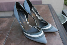 Lamb By Gwen Stefani Pumps Size 10 NAVY BLUE DENIM HIGH HEEL