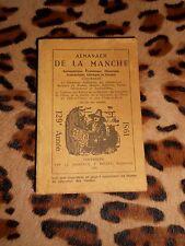 ALMANACH DE LA MANCHE 1981 - Typ.Ch. Daireaux,  P. Bellée