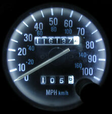 JEEP WRANGLER YJ 1987 - 1995 WHITE LED SPEEDOMETER GAUGE CLUSTER & DASH LED KIT