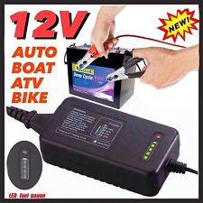 DIGITAL AUTO 12V 3A SMART BATTERY CHARGER 4 STAGE LED AGM with MCU CONTROLLER