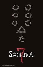 Seven Samurai  Style A Movie Poster 13x19 inches