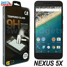 Real in vetro temperato PELLICOLA LCD Screen Protector Guard per LG GOOGLE NEXUS 5x