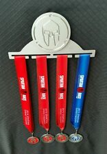 Spartan OCR Race Medal Display Hanger MADE BY SPARTANS - Aircraft Grade Aluminum