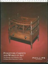 PHILLIPS Sale Catalogue FURNITURE CARPETS WORKS OF ART 26 Feb 2001