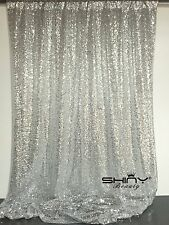 4FT*6FT Silver Sequin Photo Backdrop,Wedding Photo Booth, Photography Background