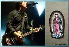 Billie Joe sticker The Virgin Mary Gibson Les Paul Junior decal + logo Green Day