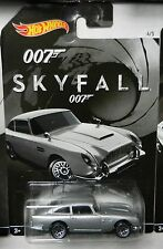 Hot Wheels HOLLYWOOD *JAMES BOND 007 SKYFALL* 1963 Ashton Martin DB5 *NIP*
