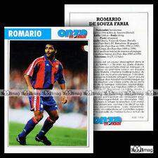 ROMARIO DE SOUZA FARIA (PSV EINDHOVEN, FC BARCELONA) Fiche Football Futbol 1994